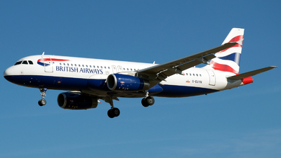 A picture of GEUYN - Airbus A320232 - British Airways - © a.m.