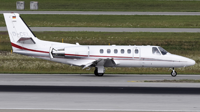 D-CELI - Cessna 550B Citation Bravo - Euro Link