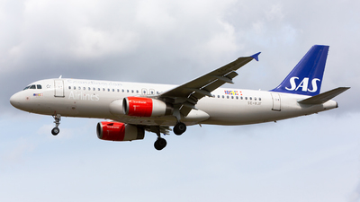SE-RJF - Airbus A320-232 - Scandinavian Airlines (SAS)