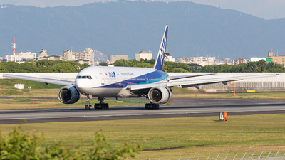 JA707A - Boeing 777-281(ER) - All Nippon Airways (ANA)