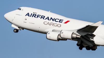 F-GIUA - Boeing 747-428ERF - Air France Cargo