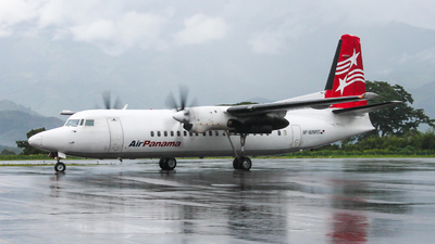 HP-1606PST - Fokker 50 - Air Panama