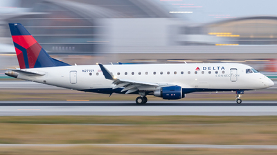 A picture of N271SY - Embraer E175LR - Delta Air Lines - © Wes Loeffler