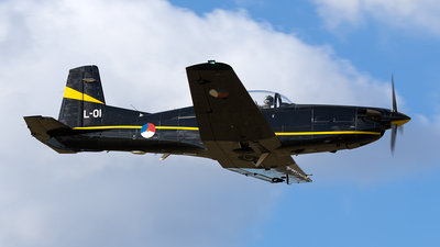 L-01 - Pilatus PC-7 - Netherlands - Royal Air Force
