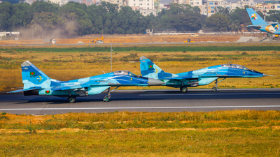 36503 - Mikoyan-Gurevich MiG-29 Fulcrum - Bangladesh - Air Force
