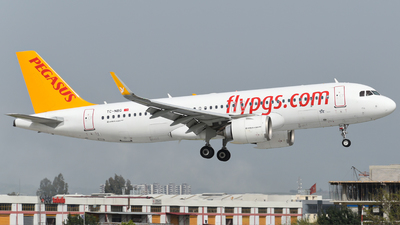A picture of TCNBG - Airbus A320251N - Pegasus Airlines - © Savas binici