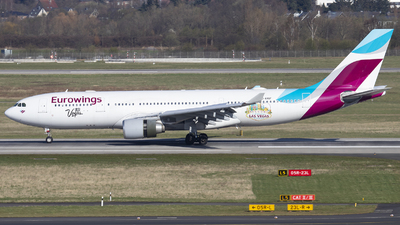 D-AXGF - Airbus A330-203 - Eurowings (SunExpress Germany)