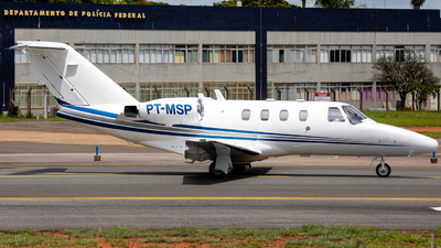 PT-MSP - Cessna 525 CitationJet 1 - Private