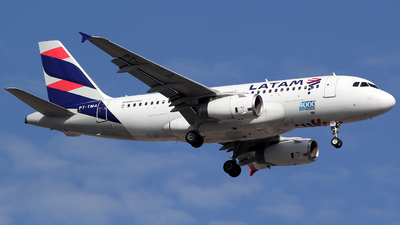 A picture of PTTMA - Airbus A319132 - LATAM Airlines - © TLBorges