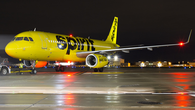 N643NK - Airbus A320-232 - Spirit Airlines