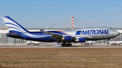 N919CA - Boeing 747-428(BCF) - National Airlines