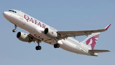 A7-LAC - Airbus A320-214 - Qatar Airways