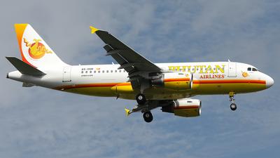 A5-DOR - Airbus A319-112 - Bhutan Airlines