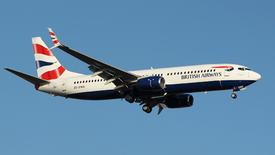 ZS-ZWG - Boeing 737-8LD - British Airways (Comair)