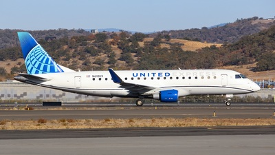 A picture of N618UX - Embraer E175LL - United Airlines - © Koki.Ishida