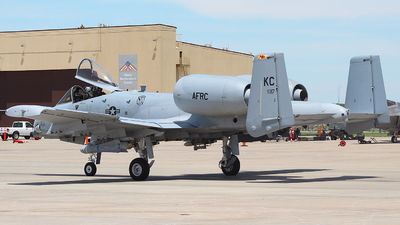 79-0117 - Fairchild A-10C Thunderbolt II - United States - US Air Force (USAF)