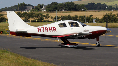 A picture of N79HR - Cessna 400 Corvalis TT - [41017] - © Ian Howat