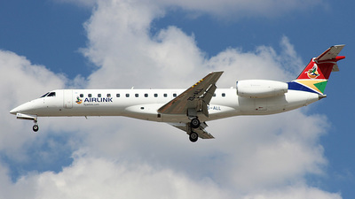 ZS-ALL - Embraer ERJ-140LR - South African Airlink