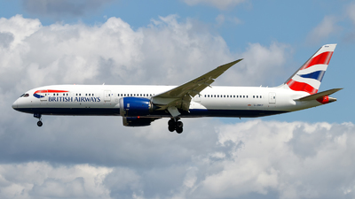G-ZBKP - Boeing 787-9 Dreamliner - British Airways