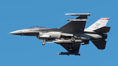 91-0412 - General Dynamics F-16CM Fighting Falcon - United States - US Air Force (USAF)