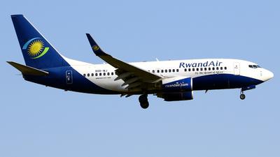 A picture of 9XRWJ - Boeing 7377K5 - RwandAir - © Javier Rodriguez - Amics de Son Sant Joan