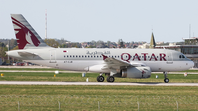 A7-CJB - Airbus A319-133(LR) - Qatar Airways