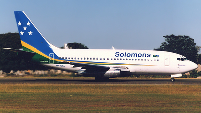 H4-SAL - Boeing 737-2T5(Adv) - Solomon Airlines
