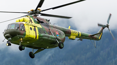 0820 - Mil Mi-17 Hip - Slovakia - Air Force