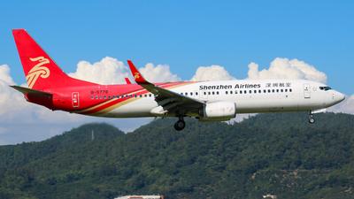 B-5778 - Boeing 737-87L - Shenzhen Airlines