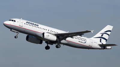 A picture of SXDGJ - Airbus A320232 - Aegean Airlines - © Oksana