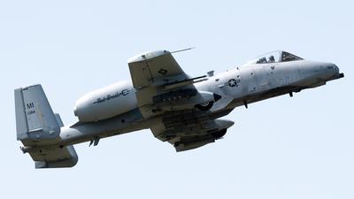 80-0184 - Fairchild A-10C Thunderbolt II - United States - US Air Force (USAF)