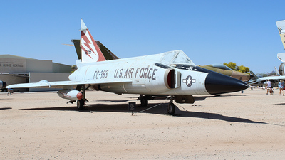 56-1393 - Convair F-102A Delta Dagger - United States - US Air Force (USAF)