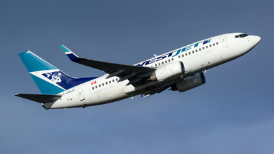 A picture of CGWJO - Boeing 7377CT - WestJet - © Chung Kwok