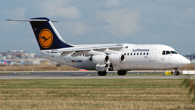 D-AVRE - British Aerospace Avro RJ85 - Lufthansa CityLine