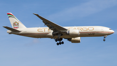 A picture of A6DDC - Boeing 777FFX - Etihad Airways - © TG Aviation Spotter