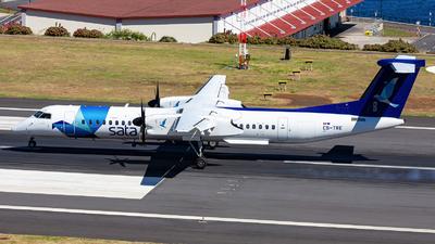 A picture of CSTRE - De Havilland Canada Dash 8400 - SATA Air Acores - © Nelson Sousa