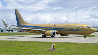 9M-III - Boeing 737-82Z(BBJ2) - Sultan of Johor
