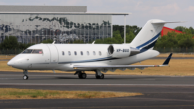 VP-BGO - Bombardier CL-600-2B16 Challenger 605 - Private