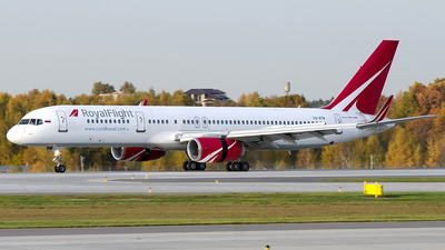 A picture of VQBTM - Boeing 757256 - [26253] - © OSDU