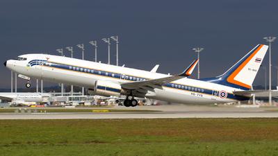 L11KH2-1/50 - Boeing 737-8Z6 - Thailand - Royal Thai Air Force