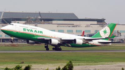 B-16412 - Boeing 747-45E - Eva Air