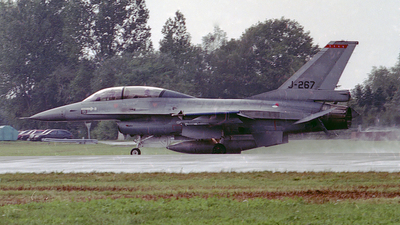 J-267 - General Dynamics F-16B Fighting Falcon - Netherlands - Royal Air Force