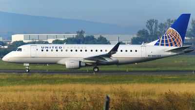N86344 - Embraer 170-200LR - United Express (Mesa Airlines)