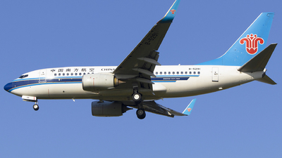 A picture of B5291 - Boeing 73771B - China Southern Airlines - © KnightHammer Aviation