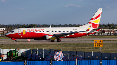 B-7167 - Boeing 737-84P - Lucky Air