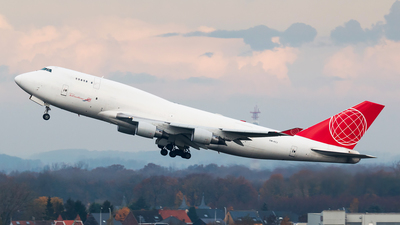 OM-ACJ - Boeing 747-433(BDSF) - Air Cargo Global