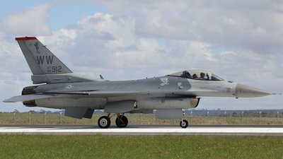 92-0912 - General Dynamics F-16C Fighting Falcon - United States - US Air Force (USAF)