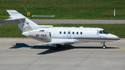 SP-CEO - Hawker Beechcraft 750 - Jet Story