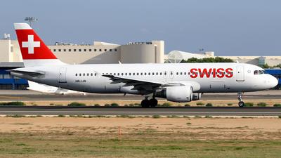 A picture of HBIJS - Airbus A320214 - Swiss - © Javier Rodriguez - Amics de Son Sant Joan