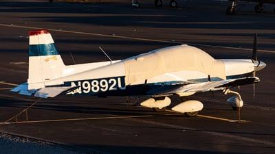 A picture of N9892U - Grumman American AA5A - [AA5A0292] - © Jet92